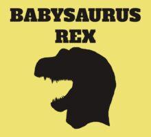 Babysaurus Rex Kids Tee