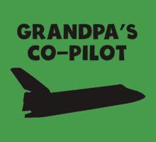 Grandpa's Co-Pilot One Piece - Short Sleeve