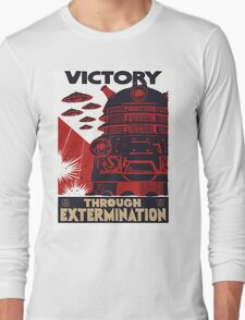All Hail Our Dalek Overlord Long Sleeve T-Shirt
