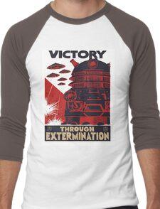 All Hail Our Dalek Overlord Men's Baseball ¾ T-Shirt
