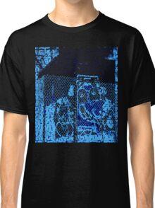 Fenced Graffiti Dog Classic T-Shirt