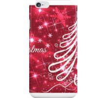 Merry Christmas Christmas Card iPhone Case/Skin