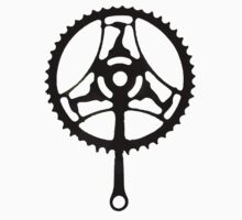 Raleigh Heron Bike Crank Chainset  by altair4