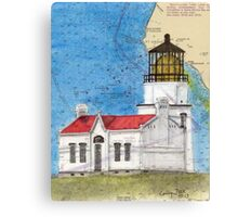 Pt Conception Lighthouse CA Nautical Cathy Peek Canvas Print