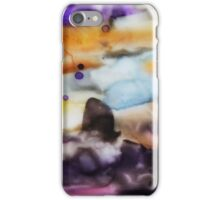 Abstract Watercolor Landscape iPhone Case/Skin