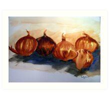 Five Onions Art Print