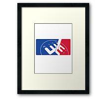 National Motorsport League  Framed Print