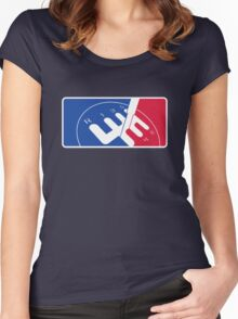 National Motorsport League  Women's Fitted Scoop T-Shirt