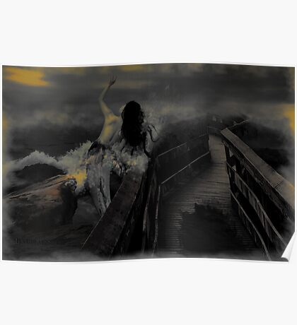 Bridge over troubled water_darker version Poster