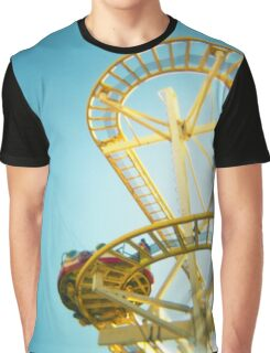 Yellow Fun Graphic T-Shirt