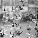Paper Cranes, Made with Love by DearMsWildOne