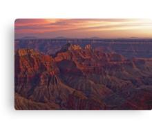 Bright Angel Sunset Canvas Print