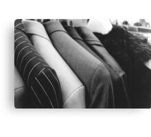 Street Suits  Canvas Print