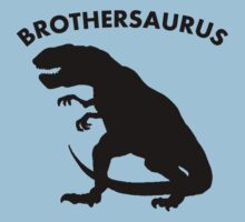 Brothersaurus Dinosaur One Piece - Short Sleeve