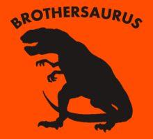 Brothersaurus Dinosaur Kids Tee