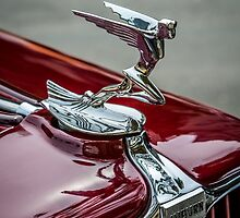Auburn Logo & Hood Ornament 4 (Flying Lady Variant) by eegibson