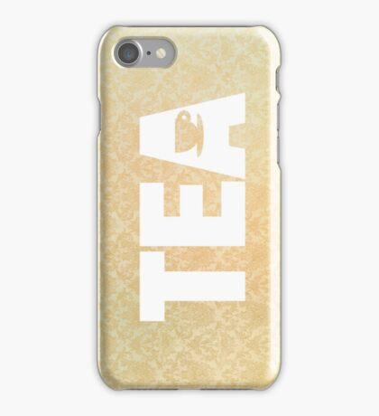 tea with tea cup iPhone Case/Skin