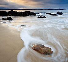 Hinsby Beach Sunrise, Tasmania #3 by Chris Cobern