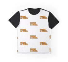 Rock n Roll Text Graphic T-Shirt