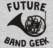 Future Band Geek French Horn One Piece - Long Sleeve