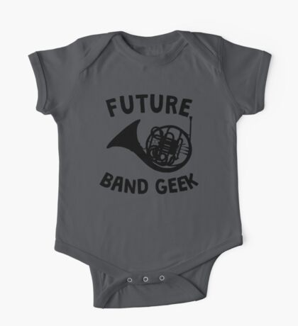 Future Band Geek French Horn One Piece - Short Sleeve