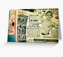 Vintage Collage  Greeting Card