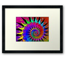 New Wave Mohawk Framed Print