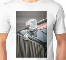 Eagle Hood Ornament / Radiator Cap on Auburn Unisex T-Shirt