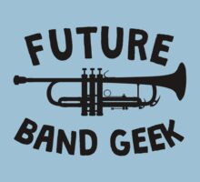 Future Band Geek Trumpet One Piece - Short Sleeve