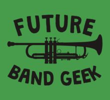 Future Band Geek Trumpet Kids Tee