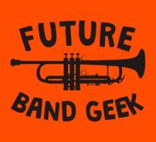 Future Band Geek Trumpet Kids Tee