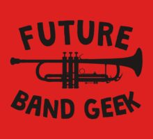 Future Band Geek Trumpet One Piece - Long Sleeve