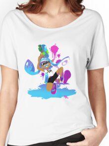 Splatoon Inkling (Cyan) Women's Relaxed Fit T-Shirt