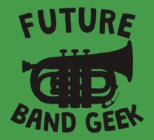 Future Band Geek Tuba Kids Tee