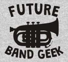Future Band Geek Tuba One Piece - Long Sleeve