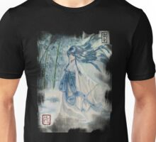 Yuki onna Snow girl Japanese mythology  Unisex T-Shirt