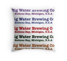 Big Water Brewing Co. Throw Pillow