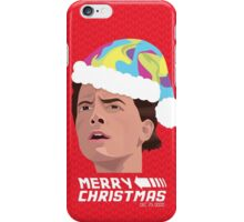 BACK TO THE FUTURE CHRISTMAS iPhone Case/Skin