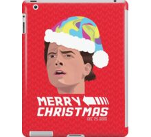 BACK TO THE FUTURE CHRISTMAS iPad Case/Skin