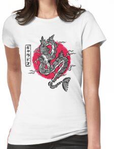 Ryu no inku Womens Fitted T-Shirt