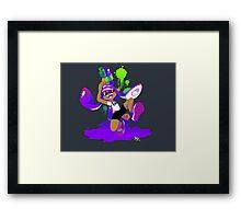 Splatoon Inkling (Purple) Framed Print