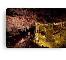 Color underfoot - Lehman Caves Canvas Print
