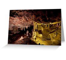 Color underfoot - Lehman Caves Greeting Card