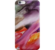 Flowing Up Watercolor Painting iPhone Case/Skin