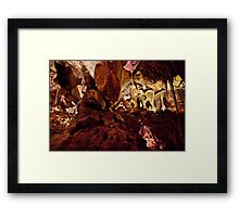 Above and beyond – Grand Palace, Lehman Caves Framed Print