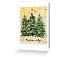 Holiday Card Greeting Card