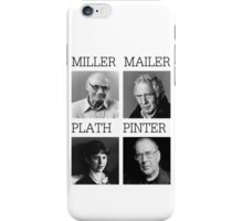 Manic Street Preachers - Faster \ Miller, Mailer, Plath and Pinter iPhone Case/Skin