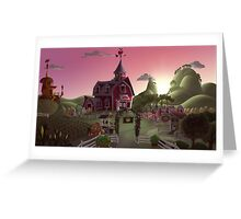 Sweet Apple Acres, Dawn Greeting Card