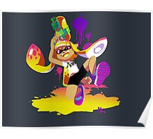 Splatoon Inkling (Yellow) Poster