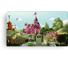Sweet Apple Acres, Noon Canvas Print